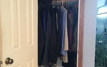 Help for a tiny-too-shallow-coat-closet?