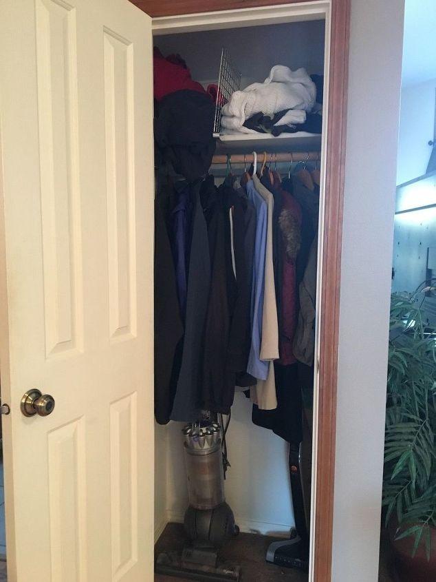 Q Help For A Tiny Too Shallow Coat Closet