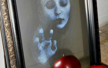 haunted mirror halloween decor diy craft