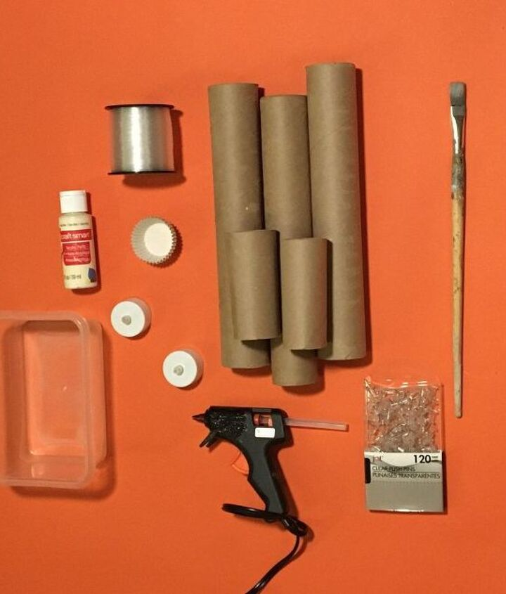 s don t throw out your old toilet paper rolls until you try these ideas, Step 1 Gather all supplies