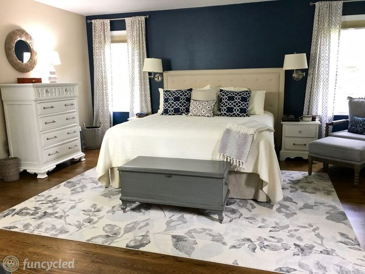 Transitional Master Bedroom Makeover Hometalk
