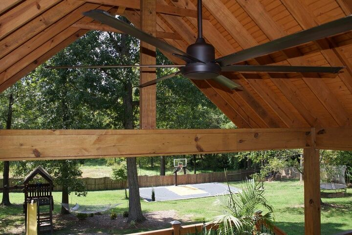 revitalize your covered outdoor area for comfort by adding an exterior