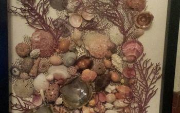 Simple Seashell Art Piece