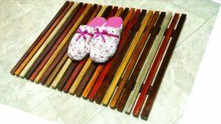 q wooden slat rugs