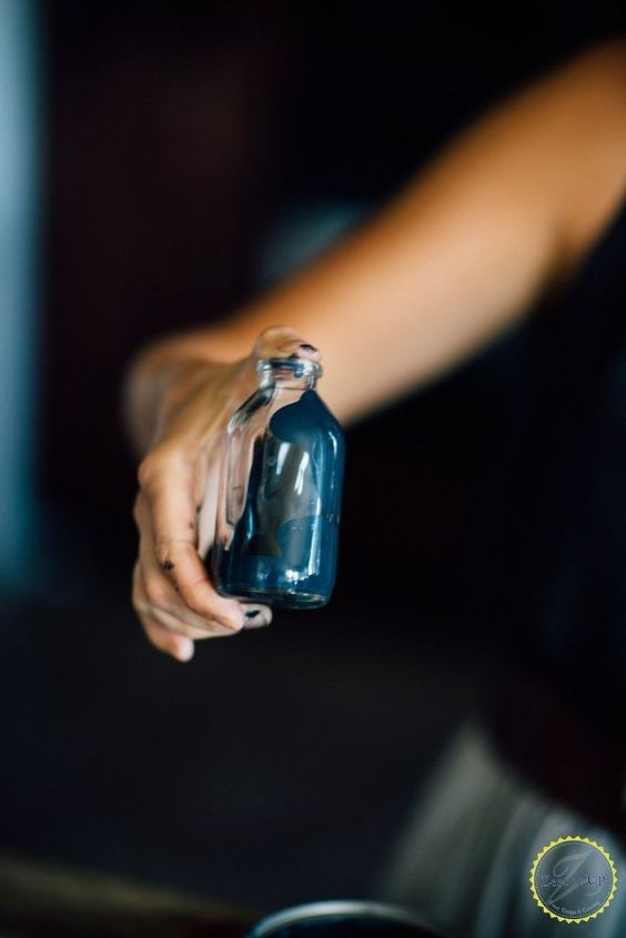 diy spooky halloween poison bottles