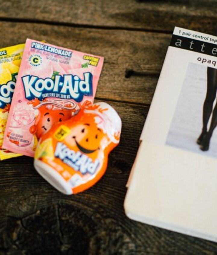how to dye tights with kool aid