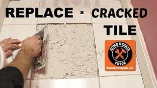 q cracking kitchen floor tiles