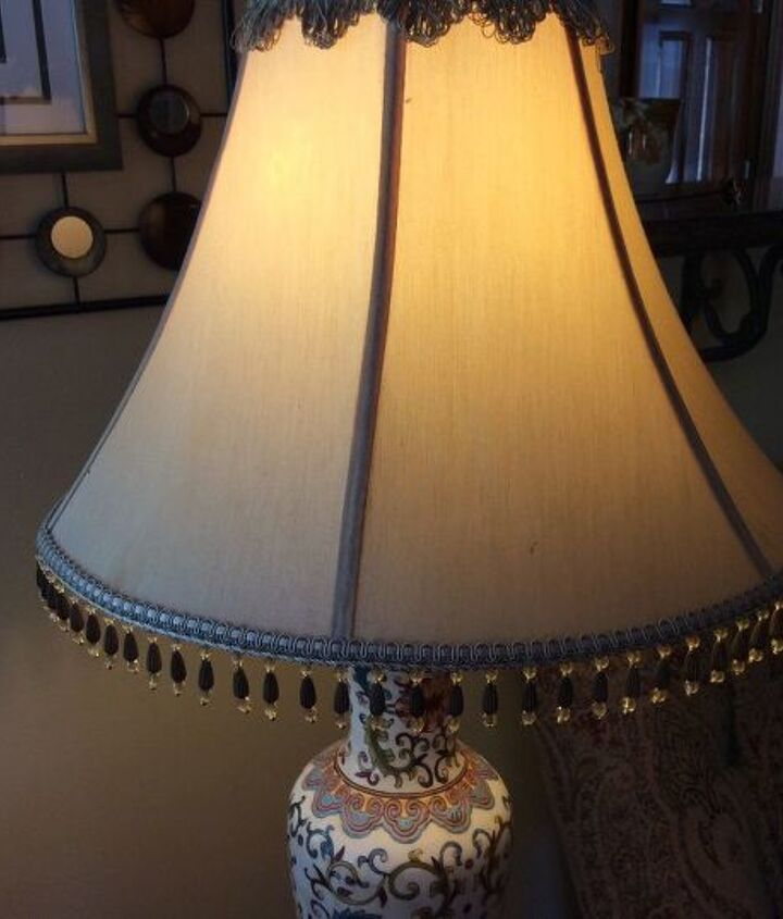q how to clean expensive silk lampshades
