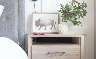how to get rid of nightstand cable clutter