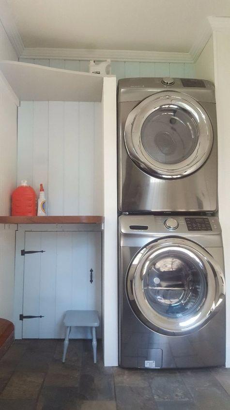 laundry room mudroom reveal