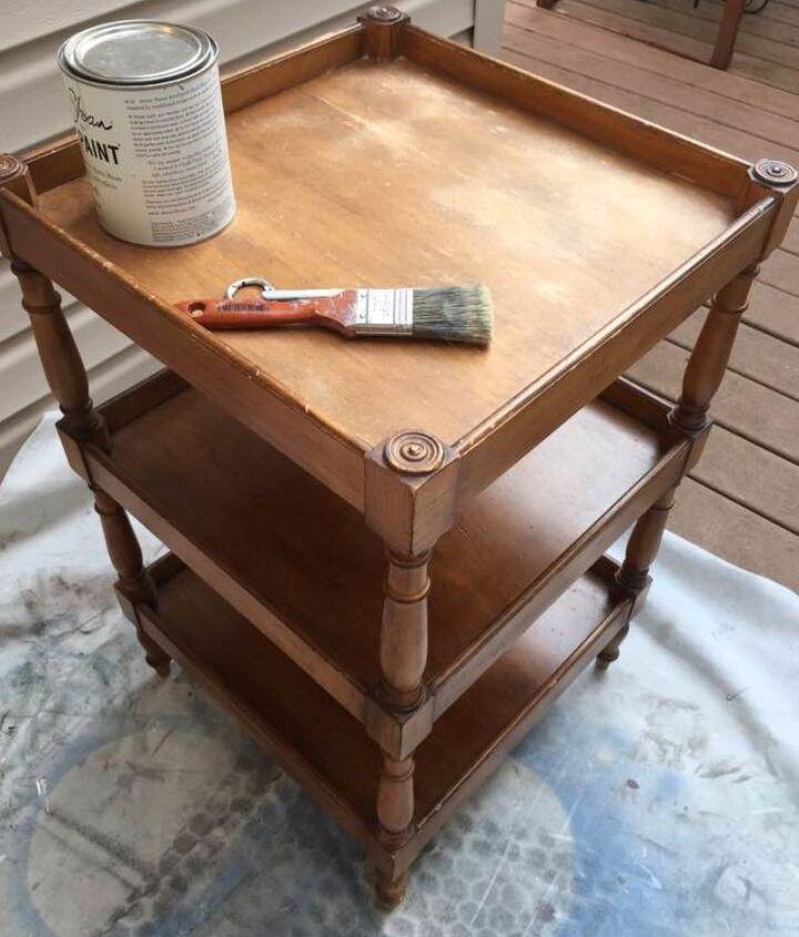 give modern furniture a vintage look