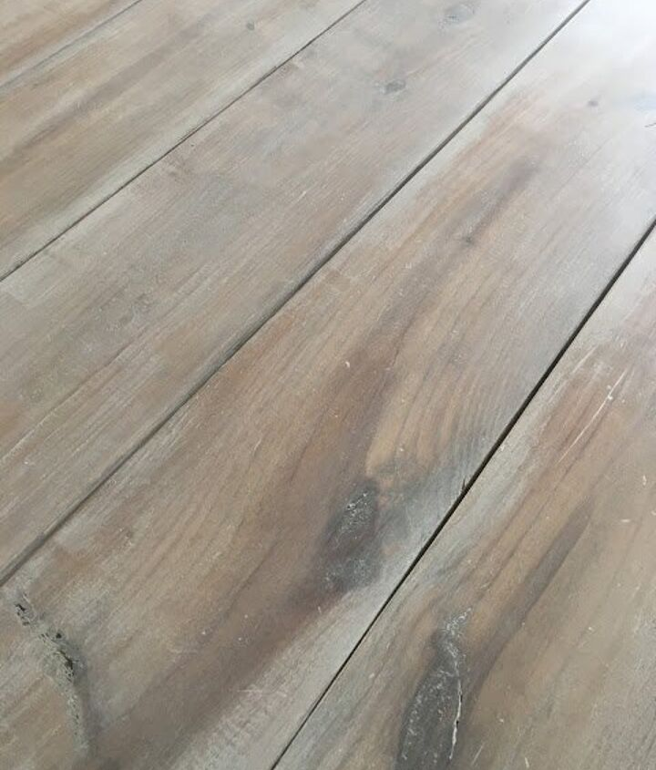 whitewashing a wood table the easy way