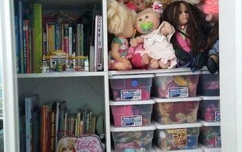 toy closet makeover