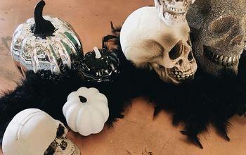 Easy Dollar Store Halloween Decor Upgrade