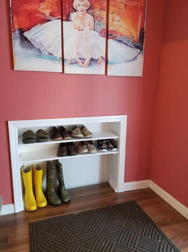 space saving shoe storage