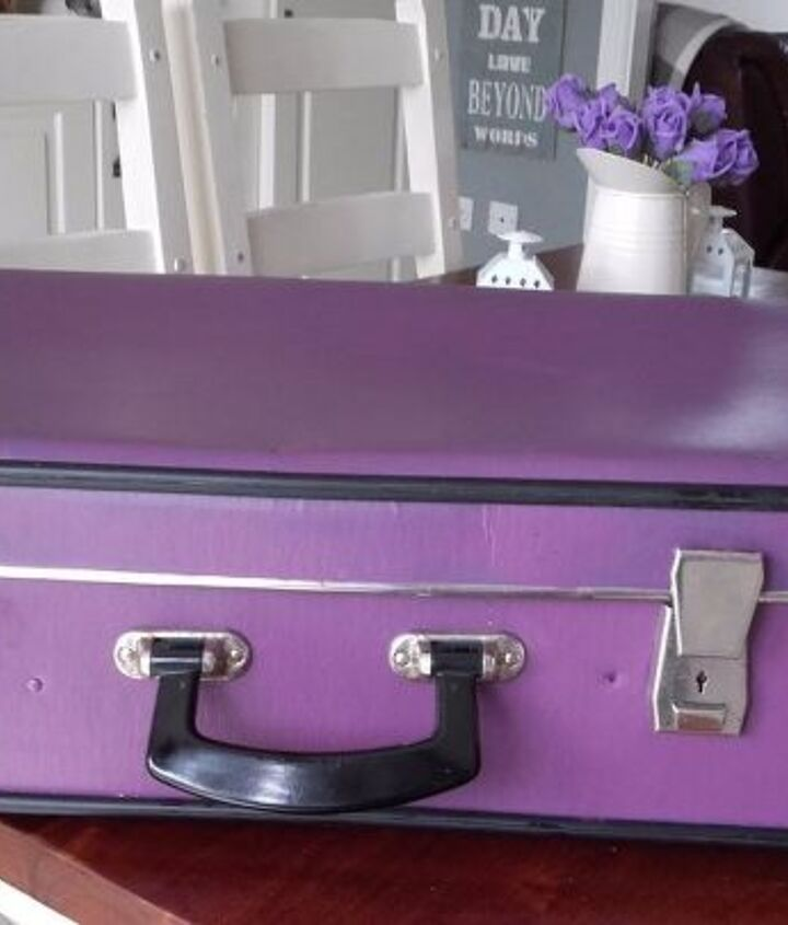 give an old suitcase a new lease of life