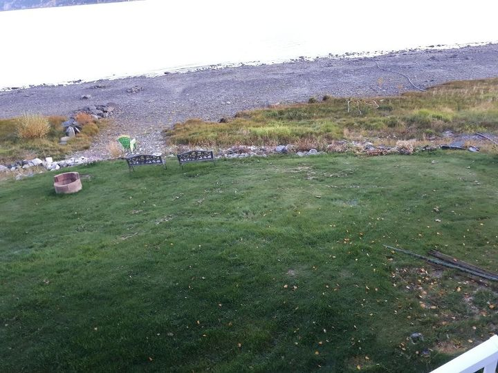 q landscaping on a slope