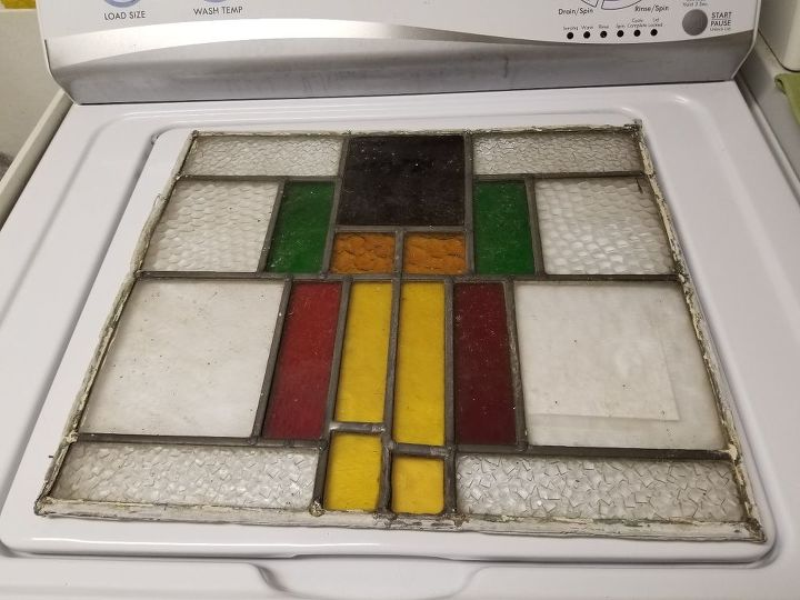 q diy frame for stained glass