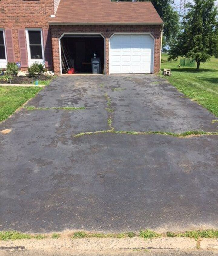 how to fill driveway cracks