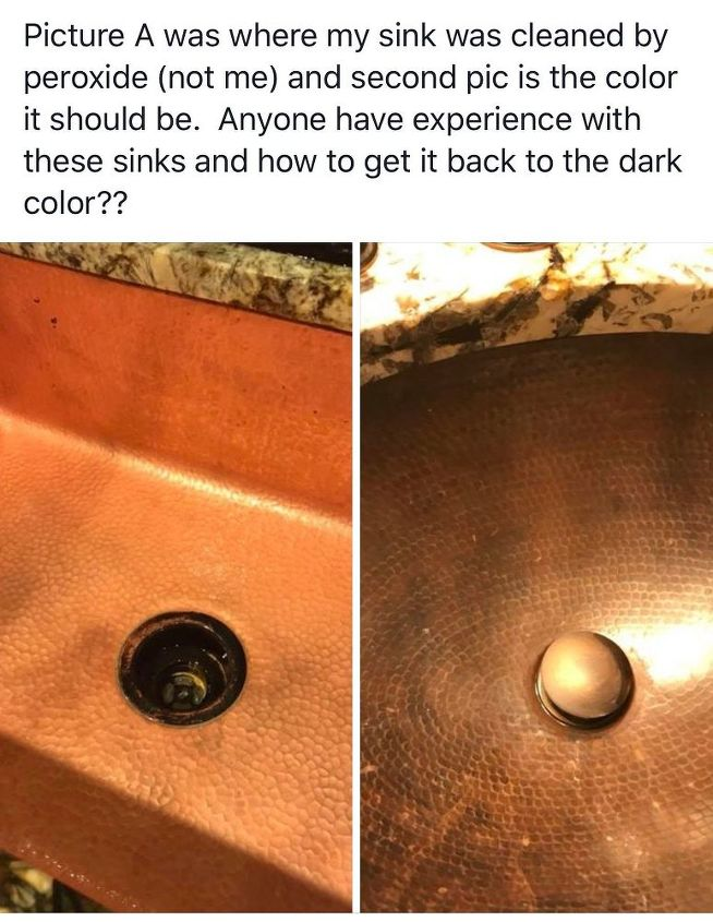 q re age a copper sink