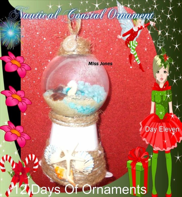nautical beach christmas ornament made cheap - Beach Christmas Ornaments