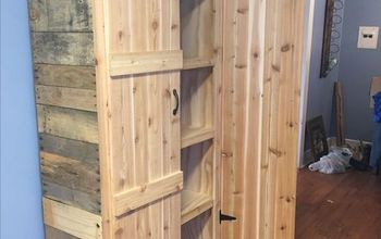How to make a Pantry out of Pallets