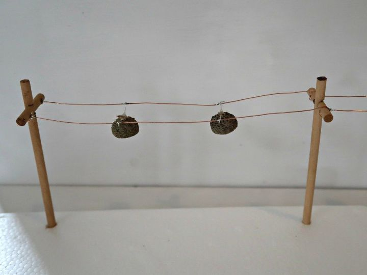 how to make acorn cap solar led lights