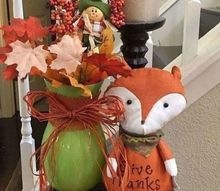 recycle flower vases in 3 steps with fun festive floral arrangements, My foxy flowers