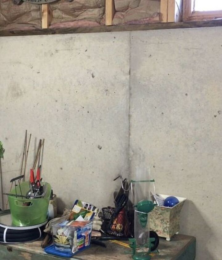how an old window helped organize this mess