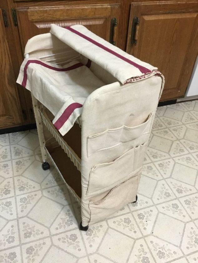 q i have a small 3 tiered rolling cart how to repurpose