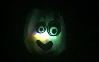 glow in the dark trick or treat bags