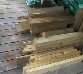 Big Wood Block Candle Holders Stands Made From Scrap Wood Hometalk