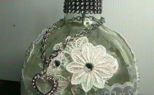 altered bottle art