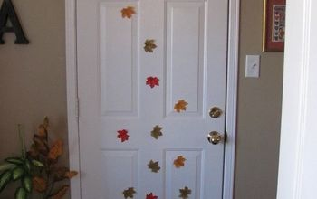 Decorate an Interior Door for Fall