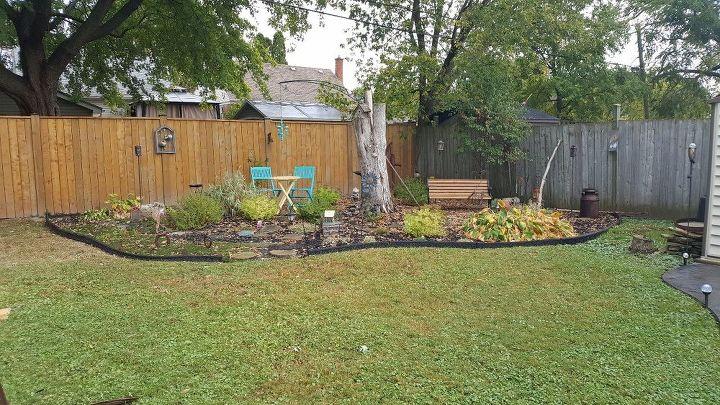 q garden make over