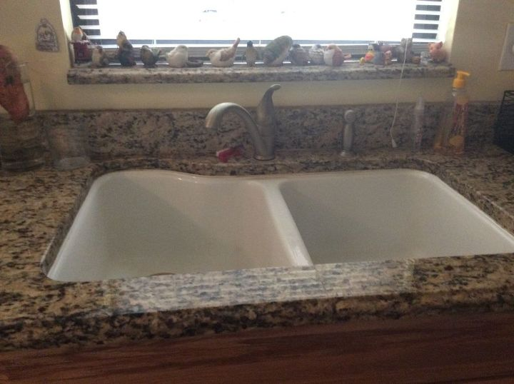 q what can be done about this kitchen sink will it involve the counter