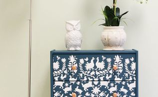 customize an ikea rast dresser for 20