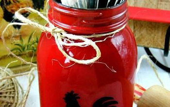 How To Make Rooster Mason Jars Gift and Craft Kitchen Ideas