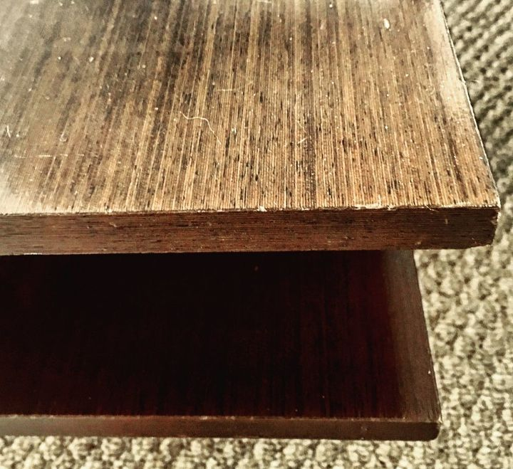 q what do you call the material covering this table is it laminate