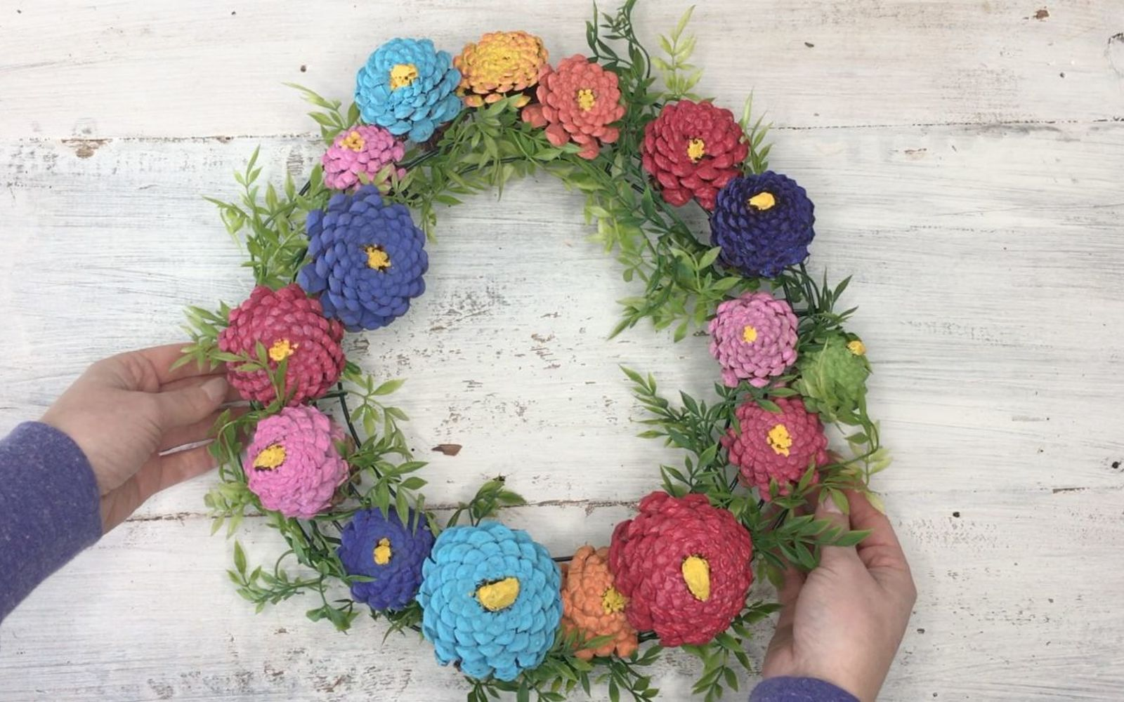 s 3 wreath ideas to brighten up your front door, Step 7 Hang the wreath on your door