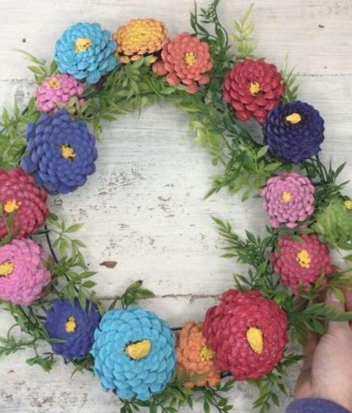 s 3 wreath ideas to brighten up your front door, Step 7 Hang the wreath on your door