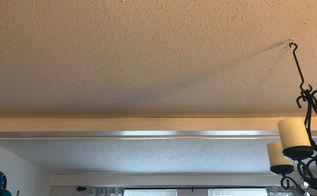 q popcorn ceiling