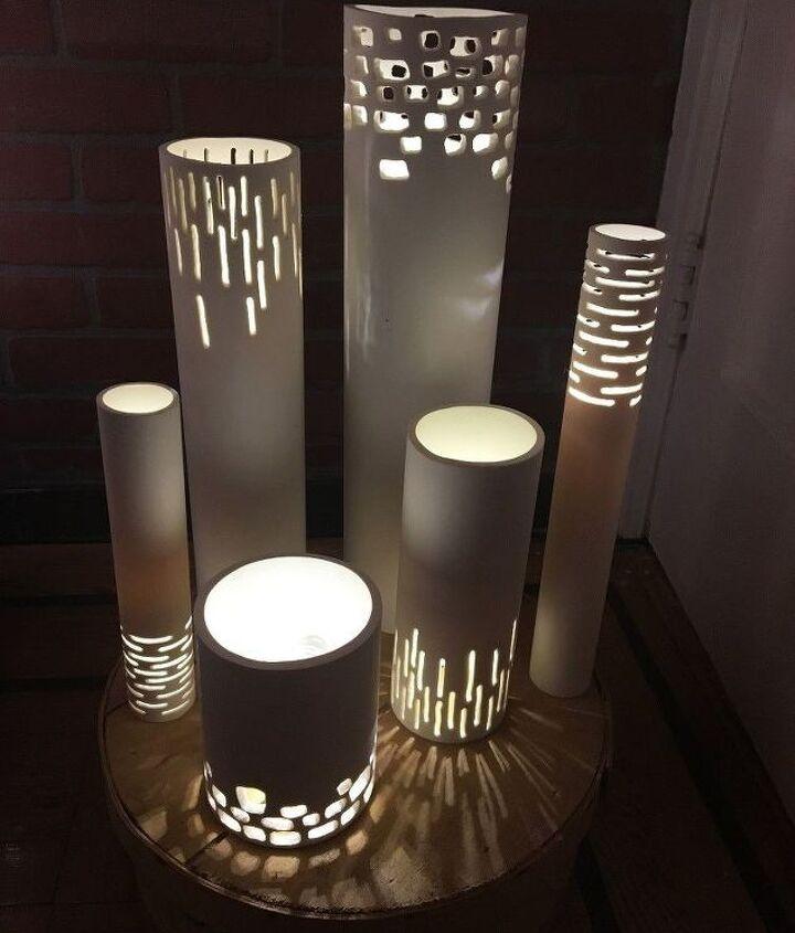 s a b c d pvc 3 awesome pvc projects ideas, Step 8 Arrange your lights