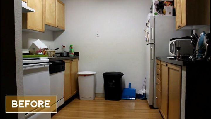 Extreme Apartment Kitchen Makeover | Hometalk
