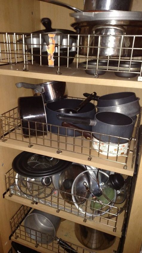 q organization of my pots and pans