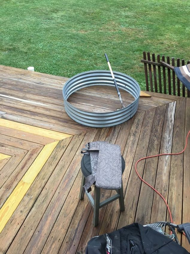 q fire pit ring ideas