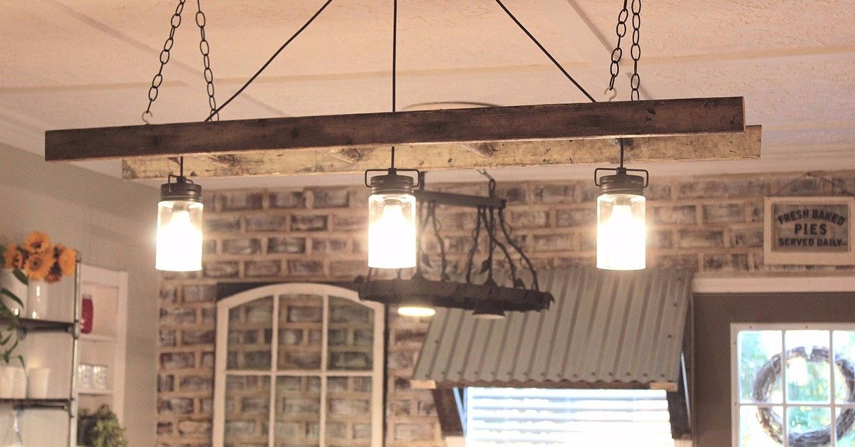 Ladder chandelier tutorial hometalk aloadofball Image collections
