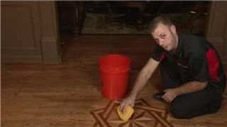 q what the best way to get wax off a hardwood flooring without taking