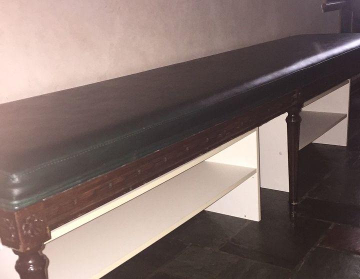 Phenomenal Church Pew To Hall Storage Shoe Bench Hometalk Cjindustries Chair Design For Home Cjindustriesco