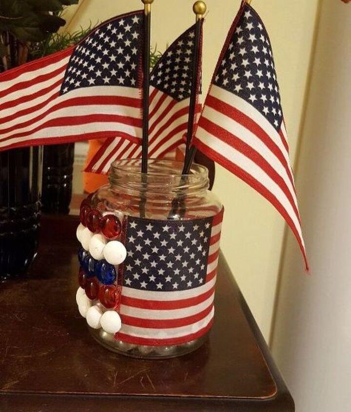 glass bottle challenge the patriotic way